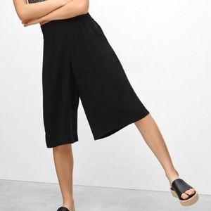 Aritzia Talula Sullivan Cropped Culotte Pants